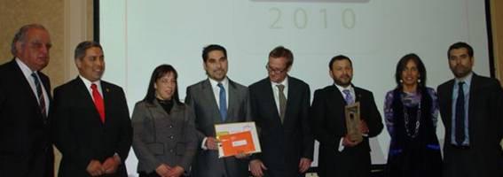 Ranking 2010 de RSE de PROhumana. Empresas chilenas socialmente responsables