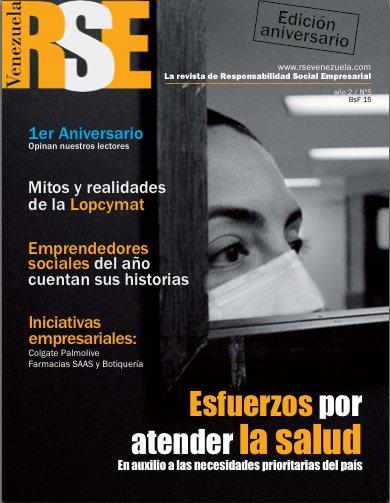 Revista RSE Venezuela cumple 1 año informando sobre Responsabilidad Social desde Venezuela