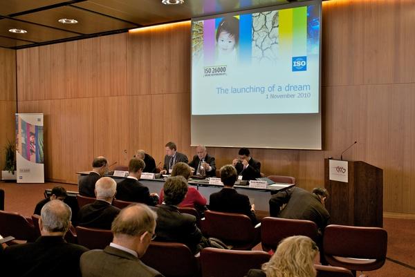 Lanzan en Ginebra la ISO 26000 de Responsabilidad Social