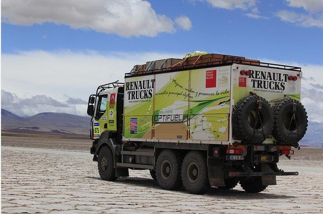 Renault Trucks y la Sustentabilidad en el Dakar 2011