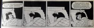 """Mafalda sueña con un mundo donde no haya """"irresponsables"""""""