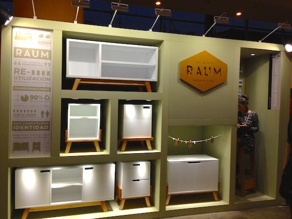 Raum Muebles en Feria Puro Diseño 2015