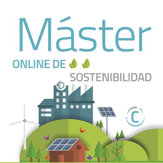 Máster Online de Sostenibilidad - Inscripción temprana hasta Junio de 2018